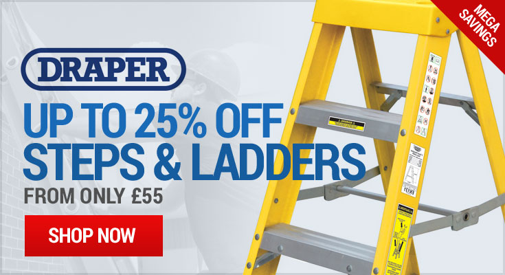 Draper Up to 25% Off Steps & Ladders