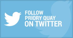 Follow Priory Quay On Twitter