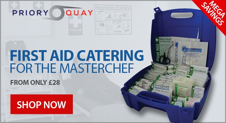 Catering First Aid for the Masterchef