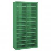 24 Steel Bin Cabinet Bins 1820mmH x 460mmD