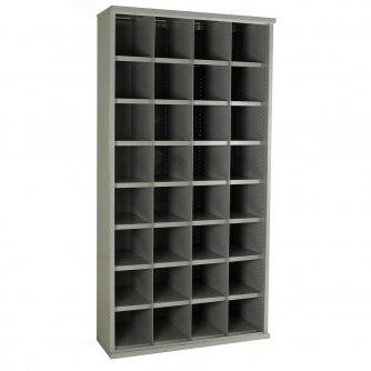 British 32 Steel Bin Cabinet 1820hx 942w 460dmm
