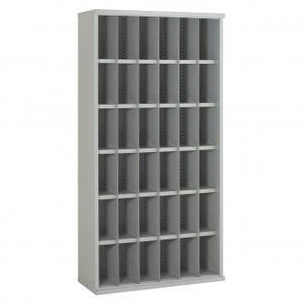 British 36 Steel Bin Cabinet 1820h x 942w x 409dmm