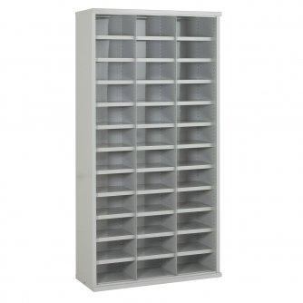 British 36 Steel Bin Cabinet 1820mmH x 355mmD