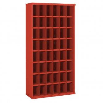 British 48 Steel Bin Cabinet 1820h x 942w x 460dmm