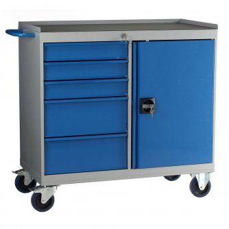 British 6 Drawer Mobile Maintenance Cabinets