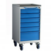 6 Drawer Mobile Unit 800mm High