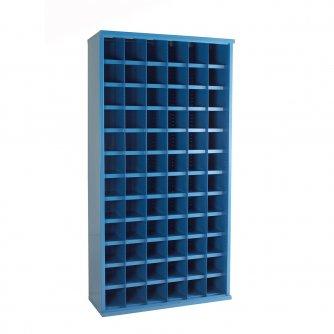 British 72 Steel Bin Cabinet 1820mmH x 460mmD 4 x colour options