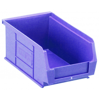Barton Topstore TC2 Tough Polypropylene Small Parts Storage Bins 165l x 100w x 75h mm Pack of 60