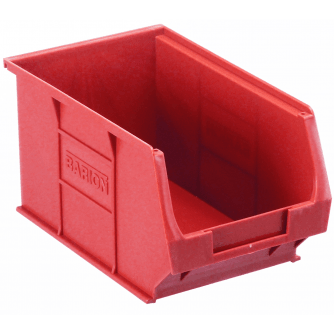 Barton Topstore TC3 Tough Polypropylene Small Parts Storage Bins 165l x 100w x 75h mm Pack of 20