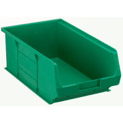 TC4 Tough Polypropylene Small Parts Storage Bins 350mm x 205mm x 132mm Pack of 10