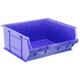 Barton Topstore TC6 Tough Polypropylene Small Parts Storage Bins 375 x 420 x 182mm Pack of 5