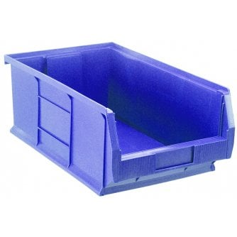Barton Topstore TC7 Tough Polypropylene Small Parts Storage Bins 520l x 310w x 200h mm Pack of 5