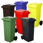 140 Litre Wheelie Bins in 6 Colours