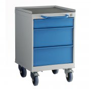 3 Drawer Mobile Drawer Unit 600mm High