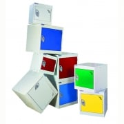 380mm Square Cube Lockers - choice of colours