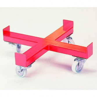 British 4 Wheel Drum Dolly, takes up to 610mm wide Drums