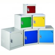 450mm Square Cube Lockers - choice of colours