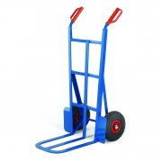450mm Toe Traditional Splay Back Sack Truck Pneumatic Tyres Capacity 200kgs