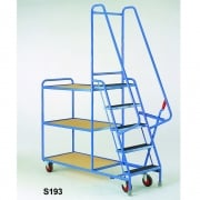 5 Step Heavy Duty Step Tray Trolley