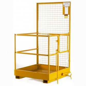 British Access Platform for use with Forklift Trucks