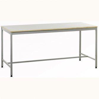 British Anti-static Square 4-leg Workbenches with Lamintae Top