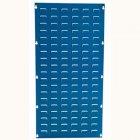 Blue Louvre Panel 1000h x 500w mm