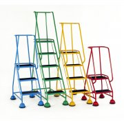 Classic Colour 3 Steps Rubber Treads