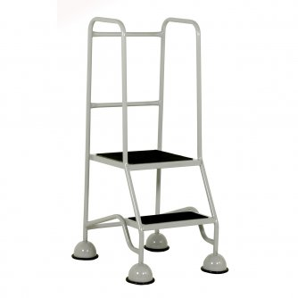 British Classic Plus Colour 2 Steps Full Handrail Anti-Slip Treads