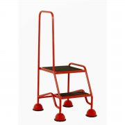 Classic Plus Colour 2 Steps Single Handrail Anti-Slip Treads
