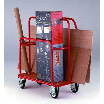British DIY Handy Trolley with Plywood Deck