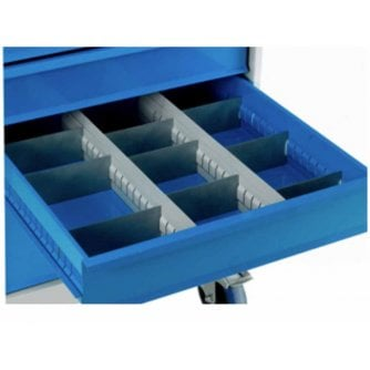 British Drawer divider Packs for Mobile Drawer Cabinets