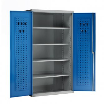 British Euro Double Door Cabinets 1800/2000mm High Empty