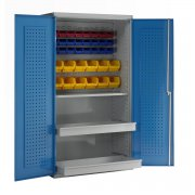 Euro Easy Order Cabinets 3 - 2 Drawers, Louvred Panel & Bins
