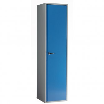 British Euro Single Door Locker Cabinets 1500mm High