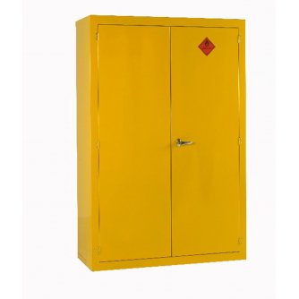 British Flammable Safety Storage Cabinets 1800hx1200wx500mmd