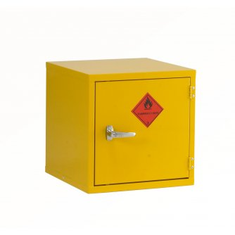 British Flammable Safety Storage Cabinets 457mm Cube