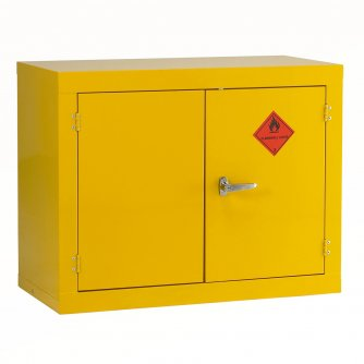 British Flammable Safety Storage Cabinets 712hx 912wx457mmd