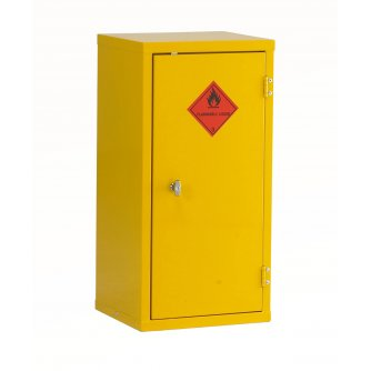 British Flammable Safety Storage Cabinets 712hx355wx305mmd