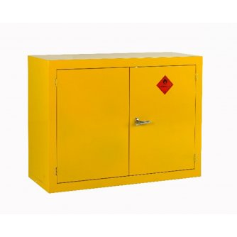 British Flammable Safety Storage Cabinets 900hx1200wx500mmd