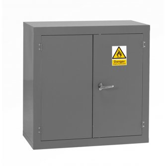 British Flammable Safety Storage Cabinets 915hx915wx457mmd