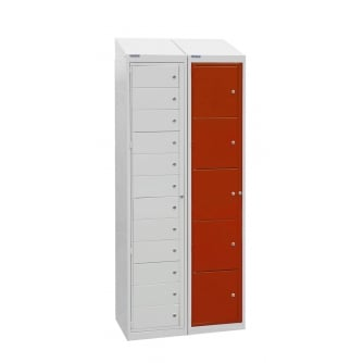 British Flat Garment Locker 15 Compartments