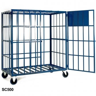 British Gas Cylinder Storage Cages Static or Mobile