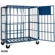 Gas Cylinder Storage Cages Static or Mobile