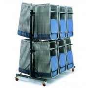 Hanging Chair Storage Trolley - Low & High Level for Folding Chairs