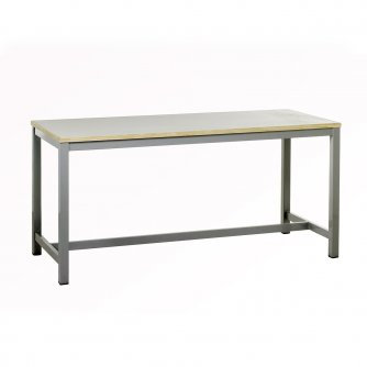 British Heavy Duty 4-Leg Frame Workbenches