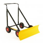 Heavy Duty Push Along V Bladed Snow Plough