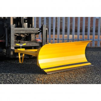 British Heavy Duty Snow Ploughs & Yard Scraper for Fork Lifts