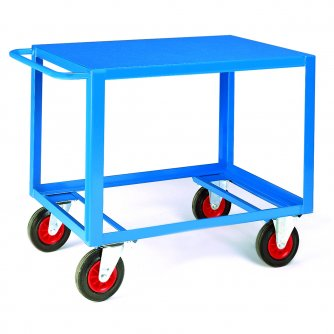 British Heavy Duty Table Trucks 1200 x 800 500kgs