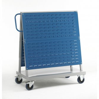 British Louvre Panel Trolley - Double Sided