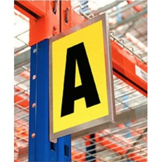 British Magentic or Adhesive Bay and Aisle Markers in 2 x Sizes